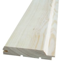 Lambriu lemn rasinoase Promobila, interior / exterior, 3000 x 96 x 17 mm