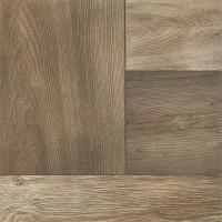Gresie exterior / interior portelanata antiderapanta Suaro grey, mata, imitatie lemn, 42 x 42 cm