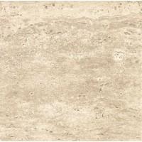 Gresie exterior / interior portelanata Travertine 6046-0131, mata, bej, 45 x 45 cm