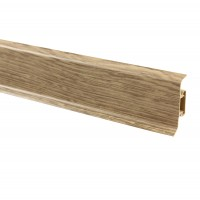 Plinta parchet PVC 10456-6025 canal stejar elegant 2500 x 52 mm