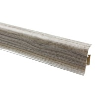 Plinta parchet PVC Vilo Flex 5102, canal cablu, molid, 2500 x 55 x 22 mm