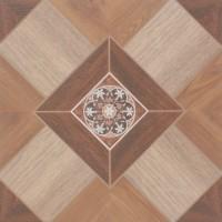 Gresie decor exterior / interior portelanata Palace 6046-0148 maro, antiderapanta, mata, imitatie lemn, 45 x 45 cm