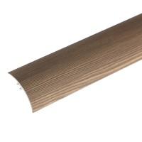 Profil aluminiu de trecere, diferenta de nivel, suruburi ascunse, caffe, 2.7 m