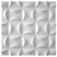 Panou decorativ 3D Sand, ipsos, 60 x 60 cm