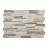 Gresie exterior / interior portelanata Andes mix, mata, imitatie piatra, 32 x 48 cm