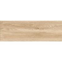 Gresie exterior / interior portelanata Woodstyle 6064-0143 bej, mata, antiderapanta, imitatie lemn, 20 x 60 cm
