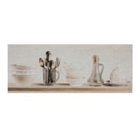 Decor faianta bucatarie Daino A DV-5319 mat bej 20 x 50 cm