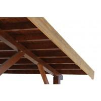 Pazie din lemn pin termotratat, 185 x 21 mm, 4 m