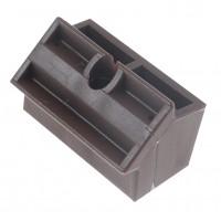 Conector plastic fatada Inco Industry, brun, 3 mm, 100 buc/pg