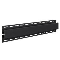 Profil imbinare H Vox SV-18, pentru lambriu exterior, PVC, graphite, 3.05 m