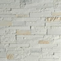 Piatra decorativa, interior / exterior, Modulo Neo Artic, alb (cutie = 1 mp)