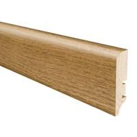 Plinta parchet lemn stejar cogniac oxy, 2200 x 60 x 16 mm