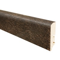 Plinta parchet lemn P50, stejar madagascar, 2200 x 60 x 16 mm