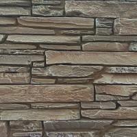 Piatra decorativa, interior / exterior, Bran 03, maro inchis, 0.55 mp