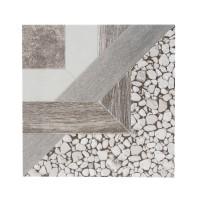 Gresie decor exterior / interior portelanata Kaya, antiderapanta, gri, mata, 33 x 33 cm