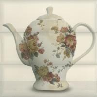 Decor faianta bucatarie Tea 03 Cream lucios crem 30 x 30 cm