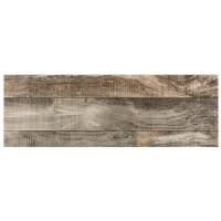 Gresie exterior / interior portelanata Forest Wood gri, mata, tip parchet, 31 x 93 cm