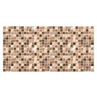 Faianta baie mozaic Trend Marron lucioasa 25 x 50 cm