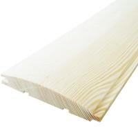 Lambriu lemn rasinoase Promobila, interior / exterior, semirotund, 4000 x 110 x 19 mm