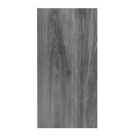 Gresie exterior / interior portelanata 6060-0232 Woodstyle gri inchis mata, imitatie lemn, 30 x 60 cm