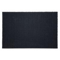 Covor intrare exterior FinnTurf, polietilena, gri, dreptunghiular, 90 x 60 cm