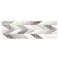 Decor faianta baie / bucatarie French Braid Wool ND036-002, alb, 29 x 89 cm