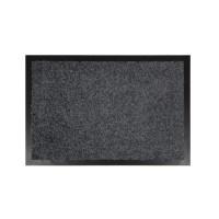 Covor intrare interior Hamat Future, polipropilena, gri, dreptunghiular, 60 x 40 cm