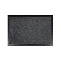 Covor intrare interior Hamat Future, polipropilena, gri, dreptunghiular, 80 x 60 cm