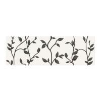 Decor faianta baie / bucatarie Winter Vine ND037-001, alb, 29 x 89 cm