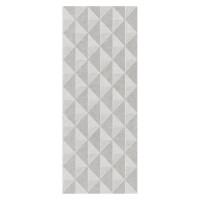 Decor faianta baie / bucatarie, 6004 Motivo Diamond, gri, mat, 20 x 50 cm