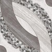 Gresie decor exterior / interior portelanata Tas, gri, mata, 45 x 45 cm