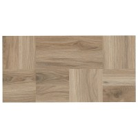 Gresie exterior / interior portelanata, B&B Clonia, mata, bej, imitatie lemn, 31 x 62 cm