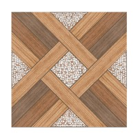 Gresie exterior / interior portelanata Aspendos, mata, maro, imitatie lemn, 42.5 x 42.5 cm