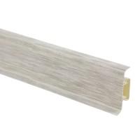 Plinta parchet PVC 10456-6015 canal mercur 2500 x 52 x 22 mm