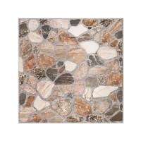 Gresie exterior / interior portelanata Cersanit Sorrento bej, mata, imitatie piatra, 29.8 x 29.8 cm