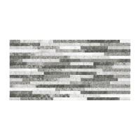 Faianta baie / bucatarie Sanex, 2051-0145 Cement, lamele gri, mata, 25 x 50 cm