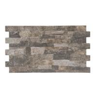 Gresie exterior / interior portelanata, Toros Brown, mata, maro, 25 x 45 cm