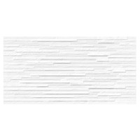 Faianta decor baie / bucatarie Arden Soren Blanco, rectificata, alba, mata, 30 x 60 cm