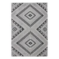 Covor living / dormitor Ritual 15507-369 polipropilena gri 80 x 150 cm