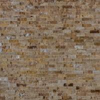 Piatra naturala decorativa Modulo Natimur Yellow Travertin, interior / exterior, maro, 0.48 mp