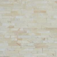 Piatra naturala decorativa Modulo Natimur Mix Cream, interior / exterior, crem, 0.468 mp