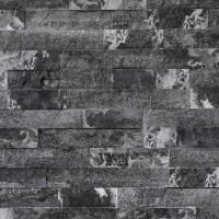 Piatra decorativa, interior / exterior, Modulo Reno Grey Marble, gri inchis, 0.89 mp