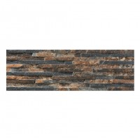 Gresie exterior / interior portelanata, Centenar Magna, mata, mix, 17 x 52 cm