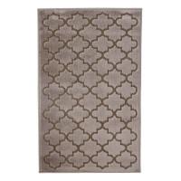 Covor living / dormitor Oriental Weavers Iconic D 30/PH9, poliolefina, dreptunghiular, maro, 60 x 110 cm