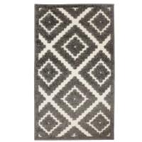 Covor living / dormitor Oriental Weavers Zenda E 524/PJ7, poliolefina, dreptunghiular, gri, 60 x 110 cm