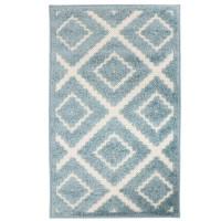 Covor living / dormitor Oriental Weavers Zenda L 524/PJ7, poliolefina, dreptunghiular, albastru, 80 x 140 cm