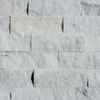 Piatra naturala decorativa Modulo Natimur Mugla White Marble, interior / exterior, alb, 0.48 mp