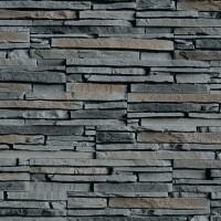 Piatra decorativa, interior / exterior, Modulo Sienna Grey Desert, gri inchis, 0.5 mp