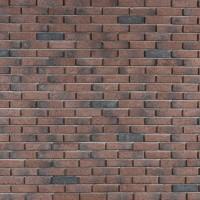 Piatra decorativa, interior / exterior, Modulo Easy Brick, rosu, 0.64 mp