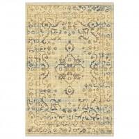 Covor living / dormitor Carpeta Atlas R 88041-41744 polipropilena heat-set dreptunghiular crem 160 x 230 cm